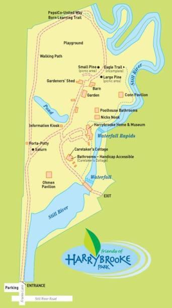 Harrybrooke Park Map